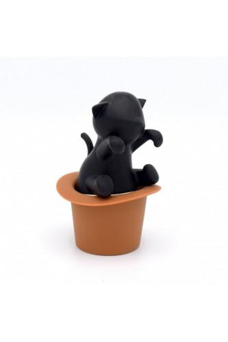 Zaparzacz do herbaty Kot w kapeluszu